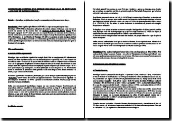Montaigne, Essais, II, 12 : Apologie de Raymond Sebond