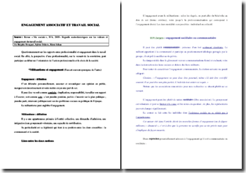 Les rapports entre professionnalité et engagement dans le travail social