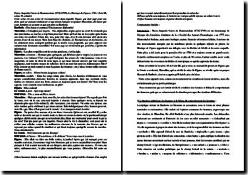 Beaumarchais, Le Mariage de Figaro, Acte III scène 16, Extrait : commentaire