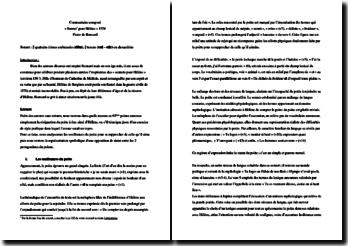 Ronsard, Sonnets pour Hélène, Sonnet LXV : commentaire