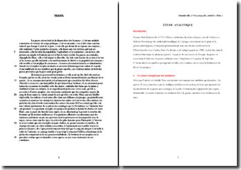 Damilaville, L'Encyclopédie, Article Paix : étude analytique