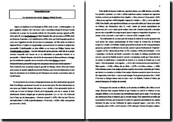 Nathalie Sarraute, Enfance, Extrait : commentaire