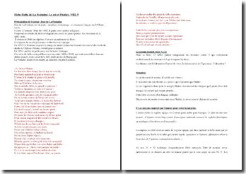 La Fontaine, Fables, Le Rat et l'Huître : commentaire