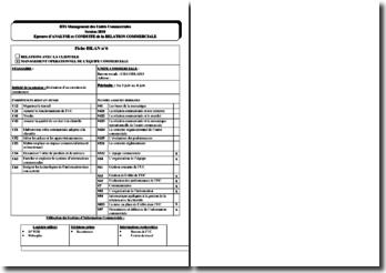 Fiche bilan ACRC : réalisation d'un entretien de recrutement
