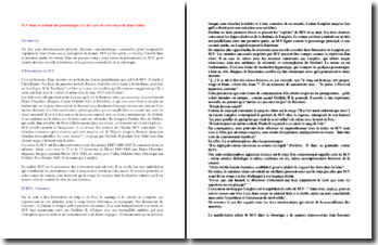 Jean Giono, Un roi sans divertissement : M.V dans le système des personnages