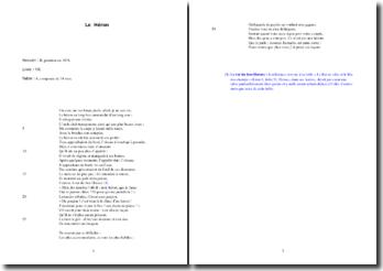 La Fontaine, Fables, Le Héron : analyse