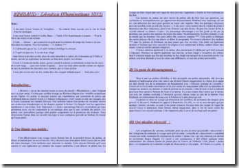 Arthur Rimbaud,Illuminations, Dévotion : commentaire