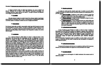 Suspension des contrats de travail et gestion des départs