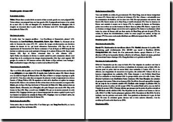 André Malraux, La Condition humaine : fiche de lecture