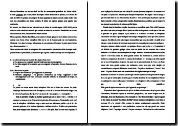 Charles Baudelaire, Les Fleurs du Mal, L'ennemi