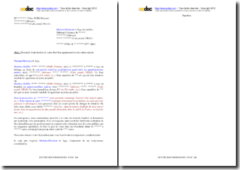 Lettre de demande d'autorisation de vente adressée au juge des tutelles d'un bien immobilier appartenant à un enfant mineur