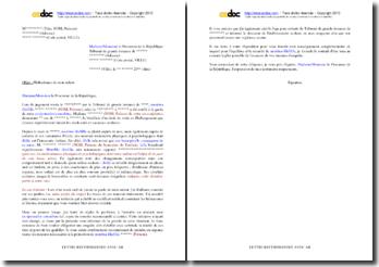 Lettre de saisine du procureur de la République (votre enfant est maltraité physiquement)