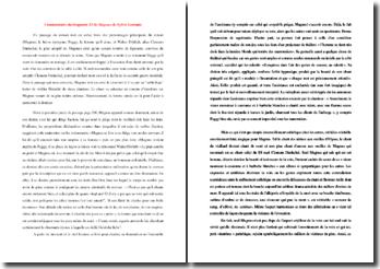 Sylvie Germain, Magnus, Fragment 23 : commentaire composé