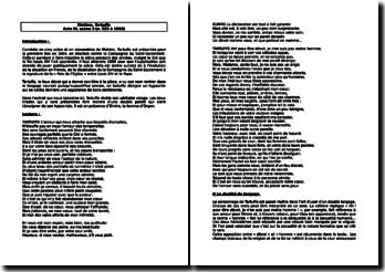 Molière, Tartuffe, Acte III, Scène 3 (v. 933 à 1000)