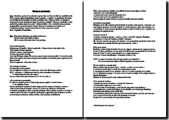 Baudelaire, Les Fleurs du Mal', Spleen et Idéal, Moesta et errabunda : commentaire