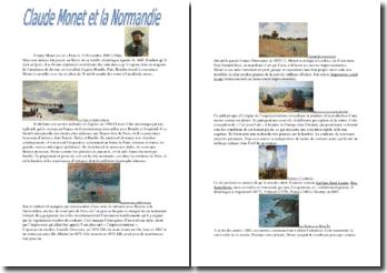 Claude Monet et la Normandie