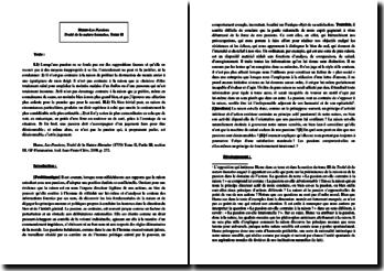 Hume, Traité de la nature humaine, Tome II, Extrait : commentaire