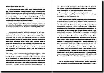 Molière, Dom Juan, Acte V scènes 5 et 6 : commentaire composé