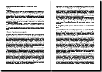 Jean Anouilh, Antigone, Prologue