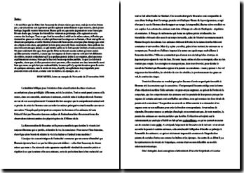 Descartes, Lettre au marquis de Newcastle du 23 novembre 1946 : explication de texte