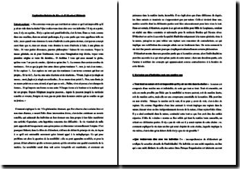 Diderot, Rêve de D'Alembert, Extrait : explication linéaire