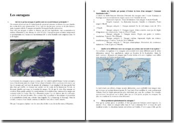 Les ouragans : caractéristiques principales, échelle d'évaluation, etc.