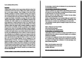 Florus, Querela de divisione imperii, Extrait : plan de commentaire