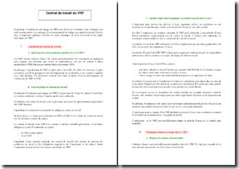 Comment rédiger le contrat de travail d'un VRP : les clauses importantes