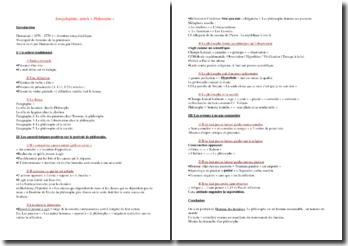 Dumarsais, Encyclopédie, article Philosophe : plan de commentaire