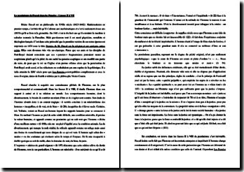 Pascal, Pensées, Liasses II à VII : le pessimisme de Pascal