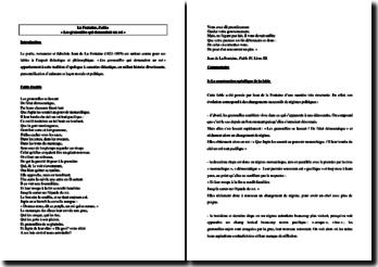 Jean de La Fontaine, Fables, Les grenouilles qui demandent un roi : commentaire composé (niveau Collège)
