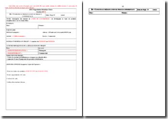 Fiche E6 BTS NRC : la vente de produits d'assurance sur des relances de clients ciblés
