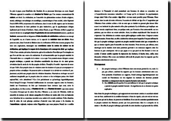 Sigmund Freud, Malaise dans la civilisation, Extrait : explication de texte
