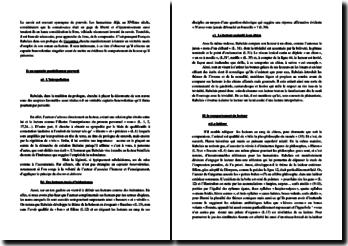 Rabelais, Gargantua, Prologue : commentaire
