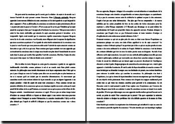 Bergson, L'Energie spirituelle, Extrait : commentaire