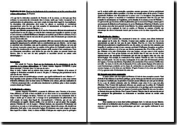 Cournot, Essai sur les fondements de la connaissance et sur les caractères de la critique philosophique : commentaire