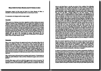 David Hume, Traité de la Nature Humaine, Tome II : passions et raison
