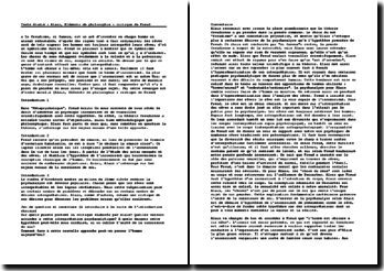 Alain, Eléments de philosophie : critique de Freud