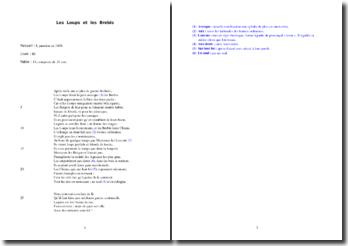 La Fontaine, Les Loups et les Brebis : analyse