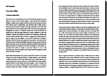 Biographie d'Emile Zola