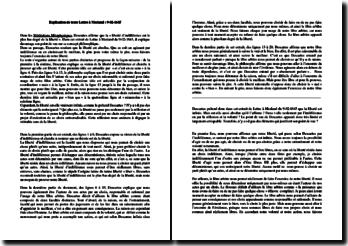 Descartes, Lettre au Père Mesland du 9 février 1645