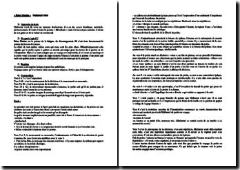 Mallarmé, Poésies, Brise marine : étude linéaire
