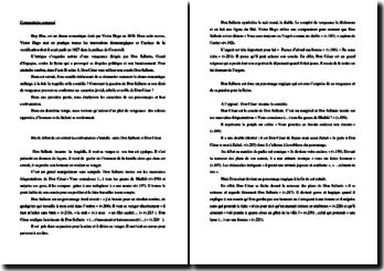 Victor Hugo, Ruy Blas, Acte II scène 1 : commentaire