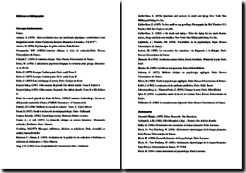 Références et bibliographie spécifiques au thème de l'annonce du diagnostic