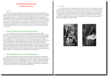 Choderlos de Laclos, Les Liaisons dangereuses, Lettres XXI, LXXXI, CXXV et CLIII : commentaire