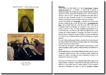 Enguerrand Quarton, La Pietà de Villeneuve-lès-Avignon : commentaire iconographique