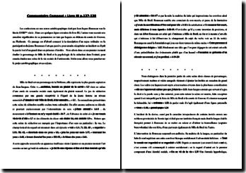 Rousseau, Les Confessions, Livre III, Chapitre 7, L'incident de la devise : commentaire