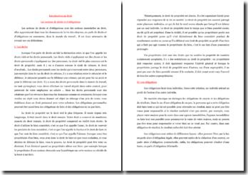 Les notions de droits et d'obligations (CRPE)