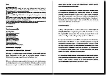 Arthur Rimbaud, Aube : commentaire