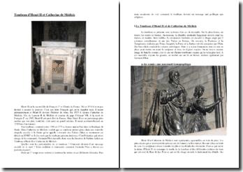 Le tombeau d'Henri II et Catherine de Médicis par Germain Pilon